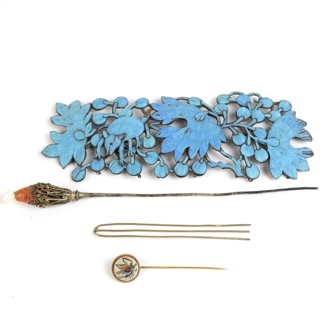 Chinese Kingfisher Hairpin, others