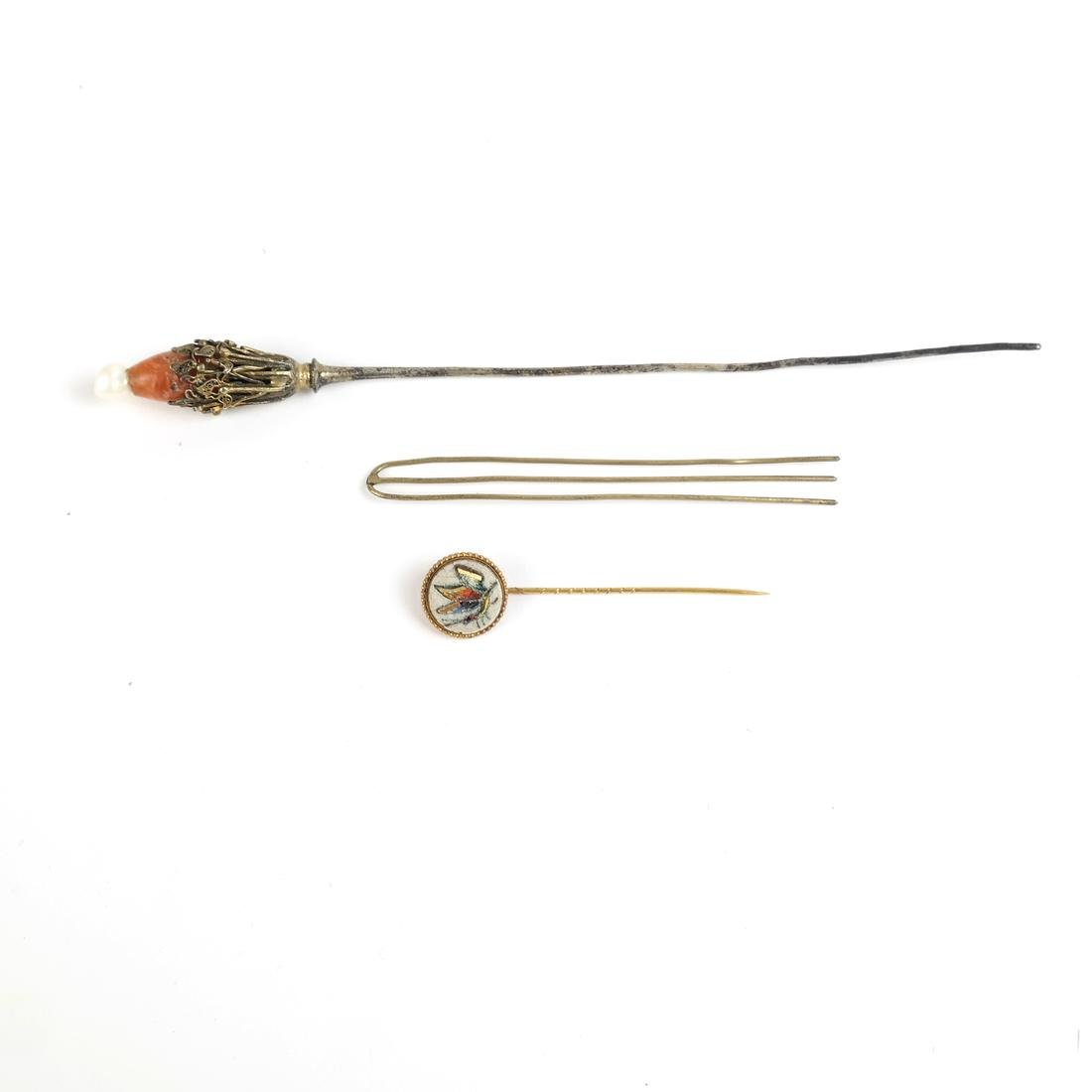Chinese Kingfisher Hairpin, others - 3