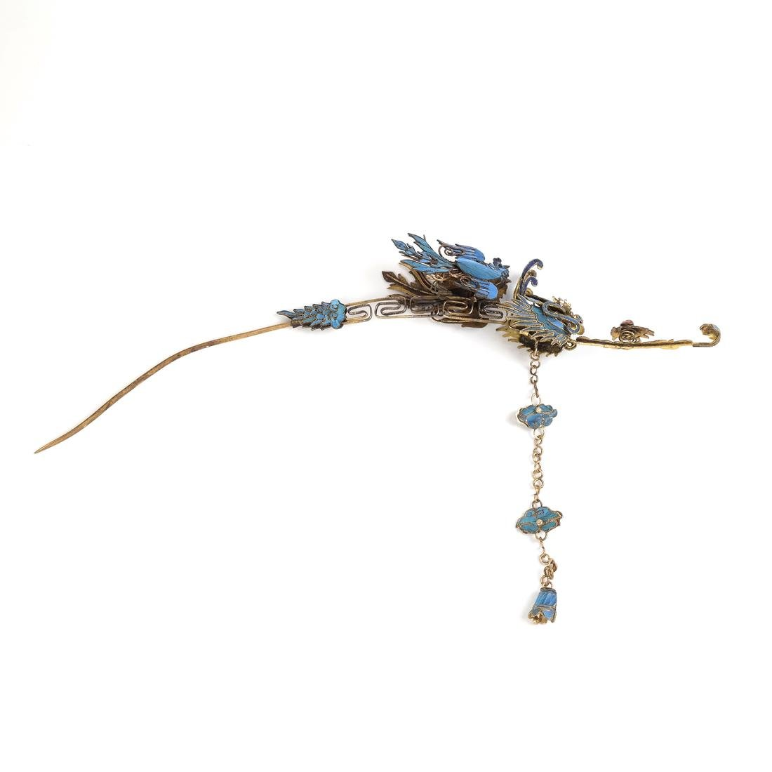 Chinese Kingfisher Hairpin