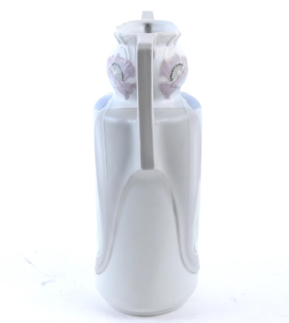 German Art Nouveau 2-Handled Vase - 2
