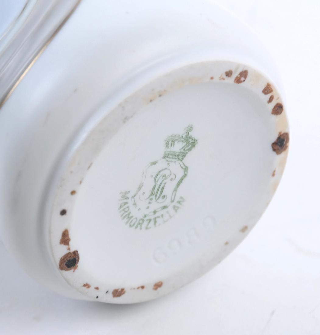 German Art Nouveau 2-Handled Vase - 6