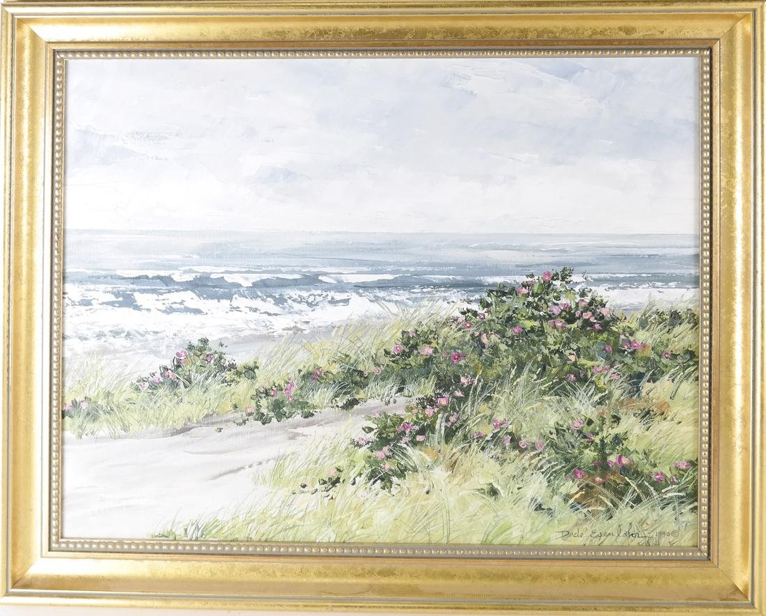 Dede Esenlohr, Coastal Landscape Scene - 2