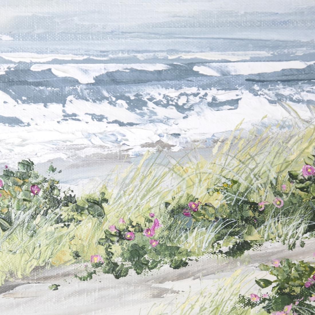 Dede Esenlohr, Coastal Landscape Scene - 4