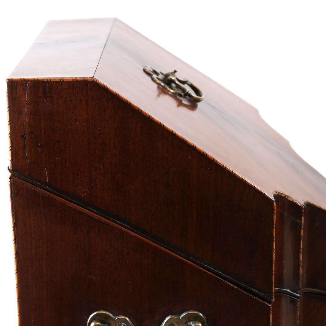 Pair of Georgian Knife Boxes - 4