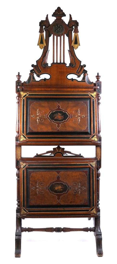 19th Century Victorian Book Stand