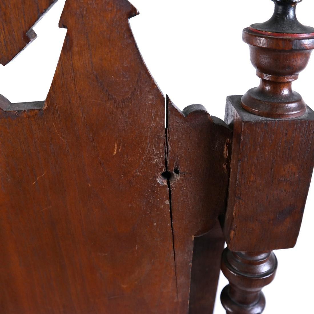19th Century Victorian Book Stand - 9