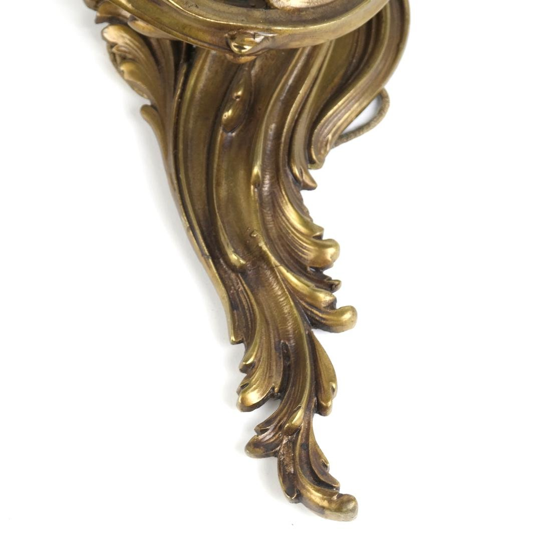 Pair of Bronze Sconces - 3