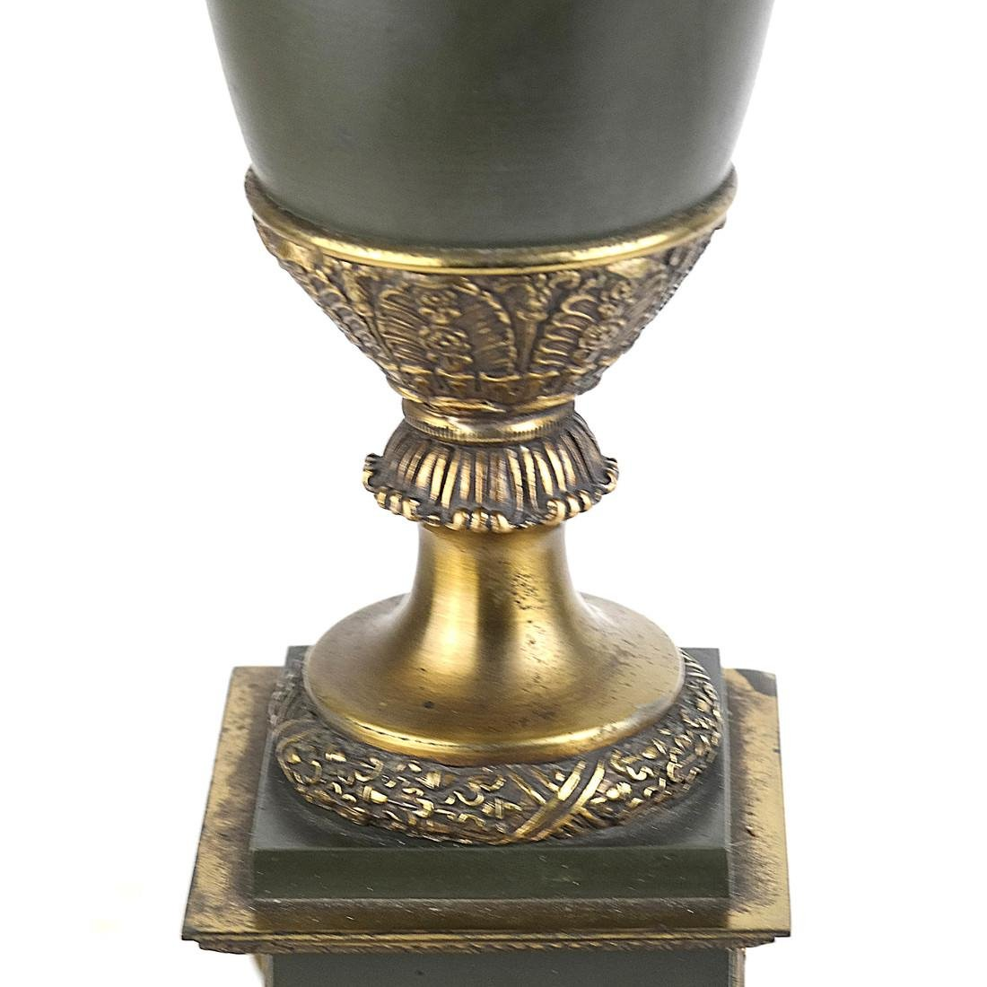 Classical Style Brass and Metal Lamp - 3