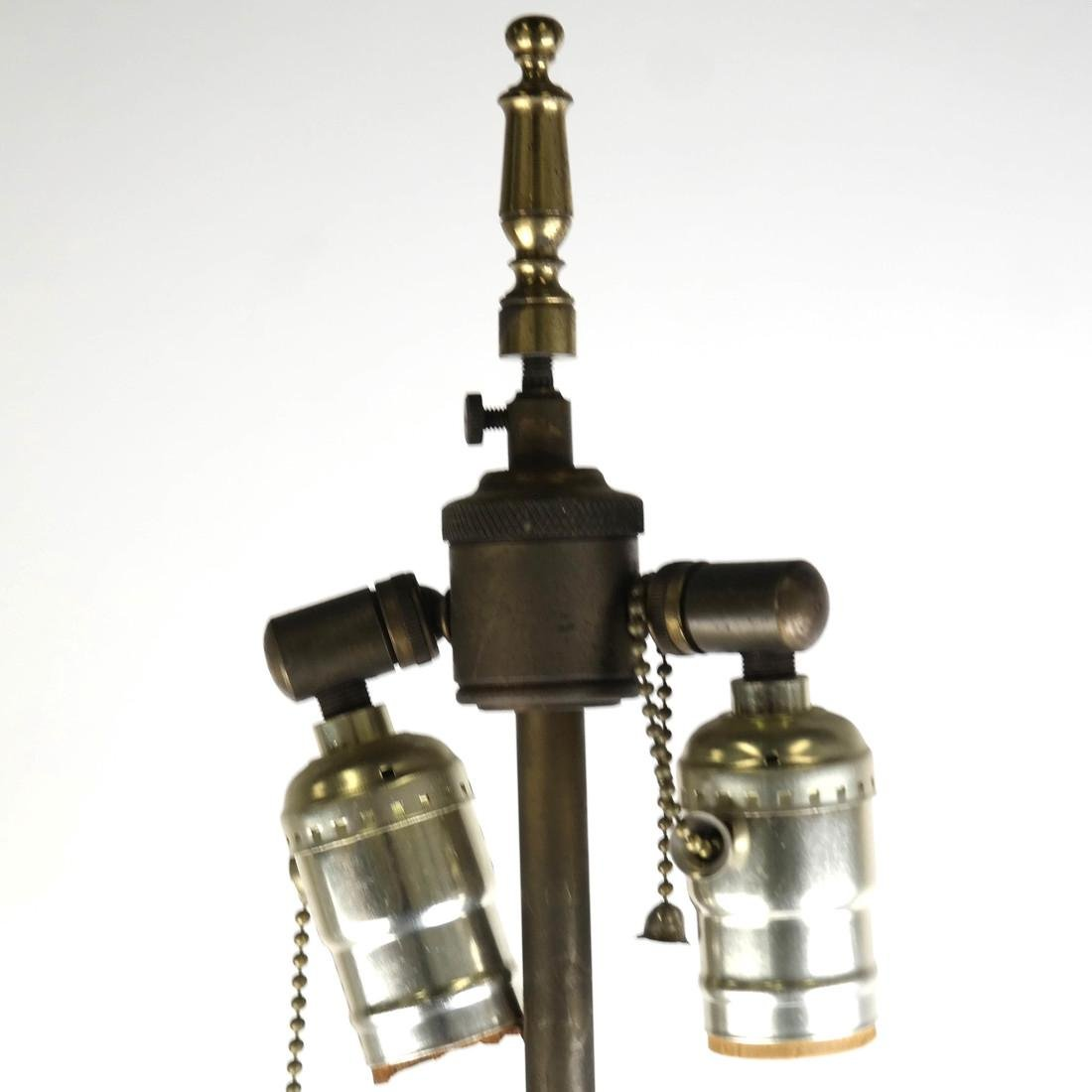 Classical Style Brass and Metal Lamp - 5