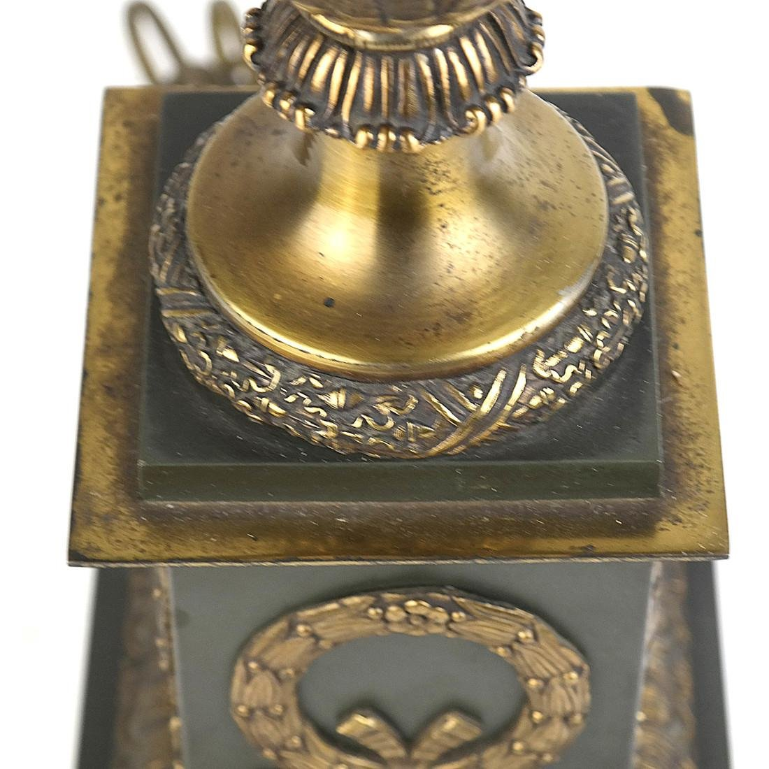 Classical Style Brass and Metal Lamp - 6