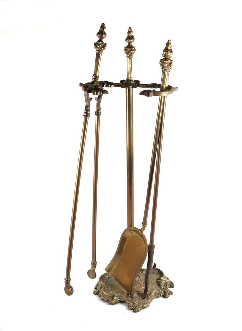 Brass Fire Tools