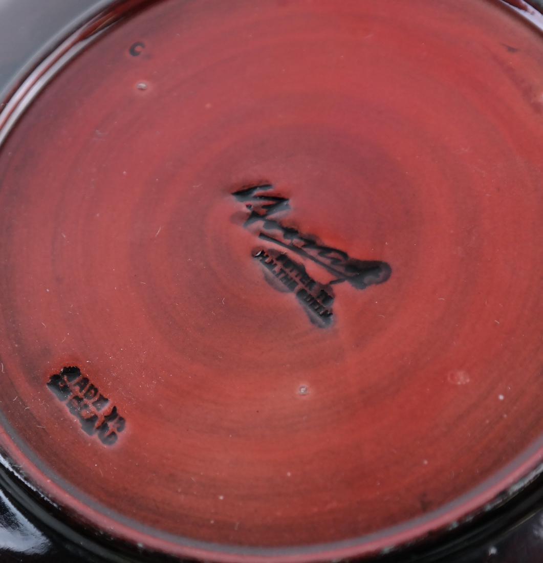 Moorecraft Glazed Pottery Dish - 6