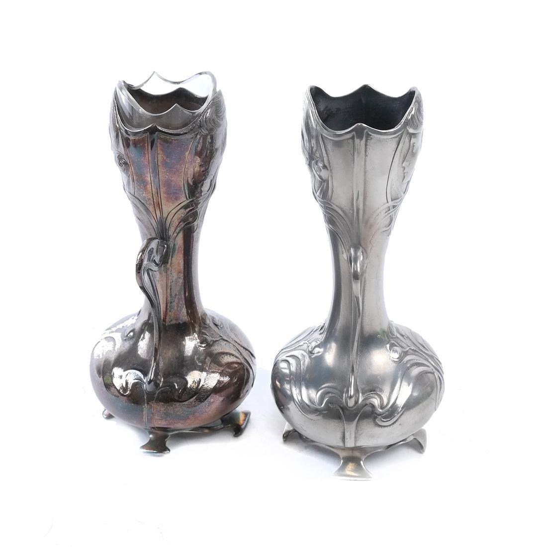 Pair of WMF Art Nouveau Vases - 2
