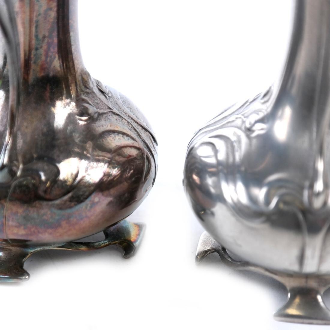 Pair of WMF Art Nouveau Vases - 5