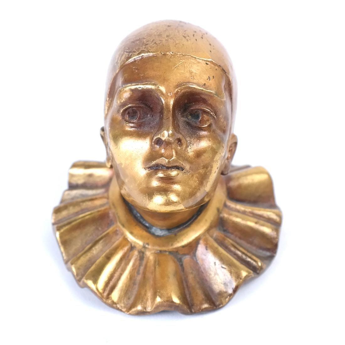Bronze Dore Clown
