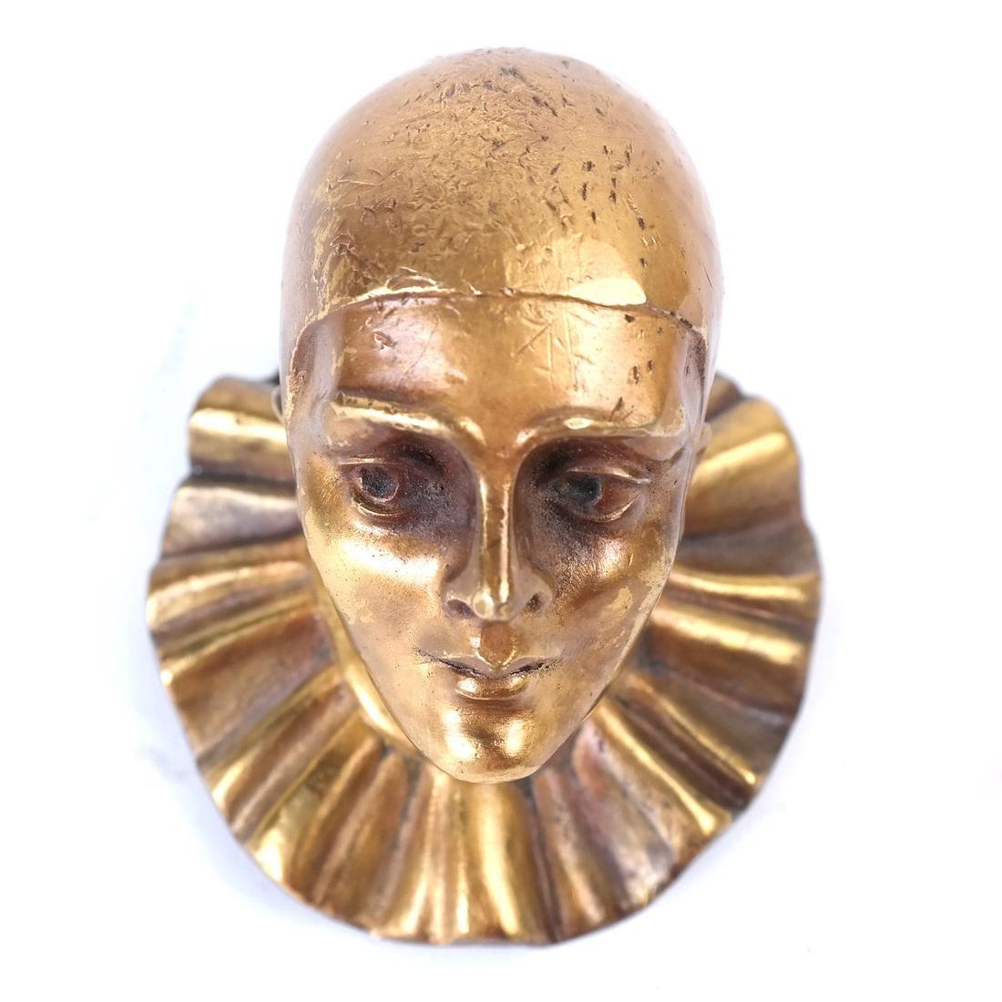 Bronze Dore Clown - 6