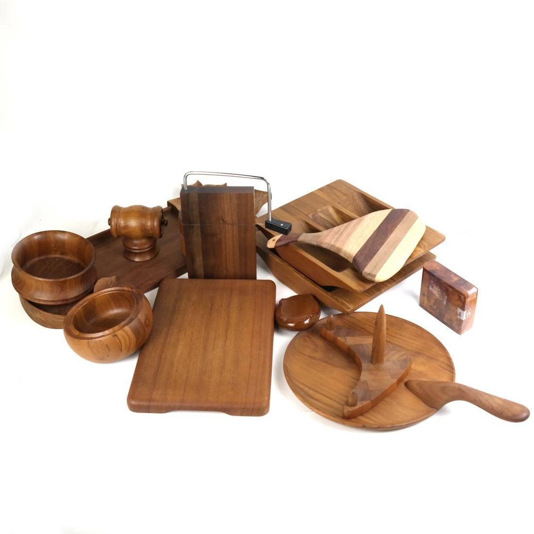 Mostly Danish Wood Serving Pieces