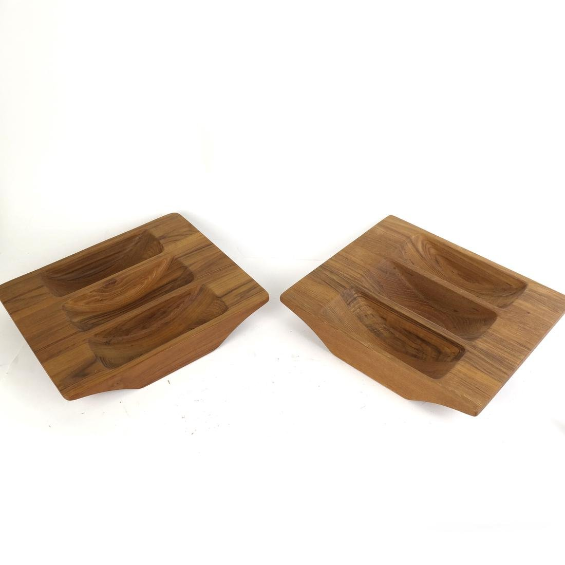 Mostly Danish Wood Serving Pieces - 6