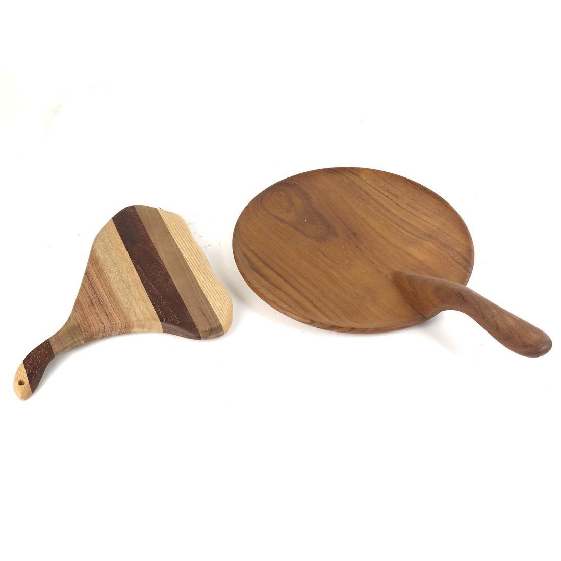 Mostly Danish Wood Serving Pieces - 7