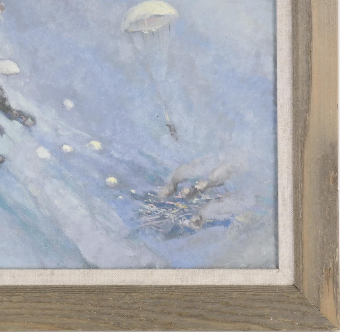 Oil on Canvas, Paratroopers - 4