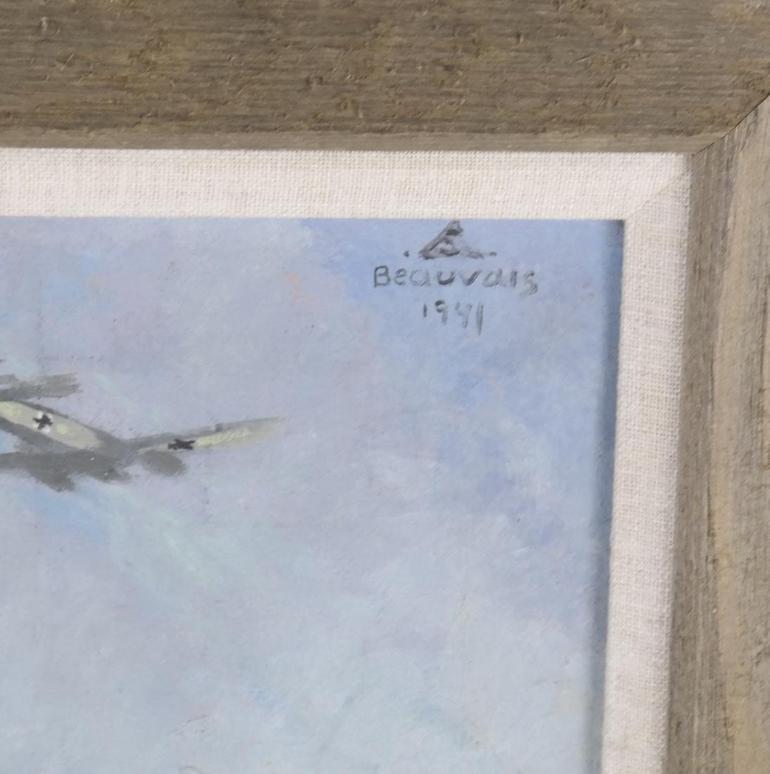 Oil on Canvas, Paratroopers - 5