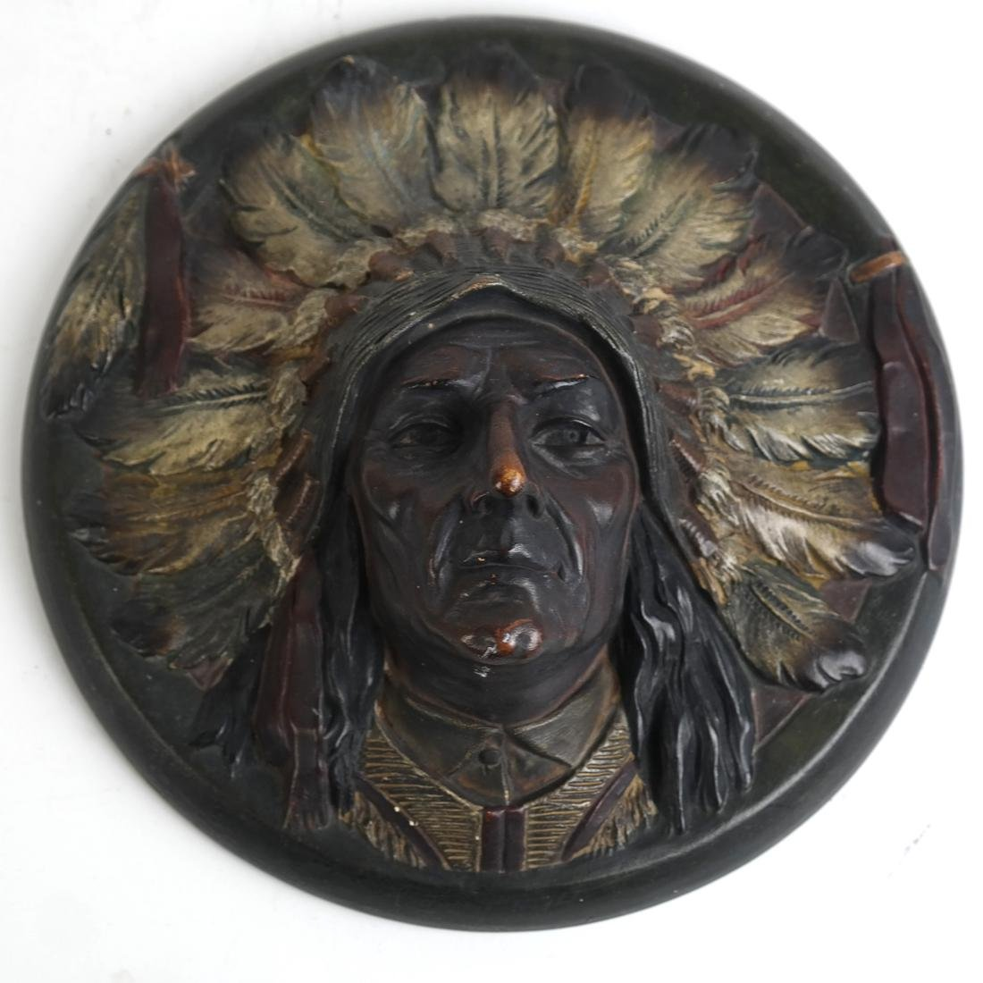 Native American Plaque, other