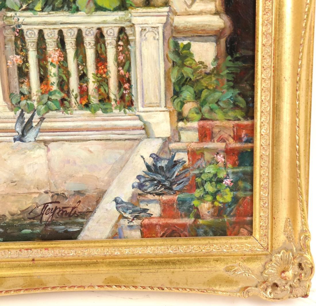Venetian Painting, Canal Scene - 3