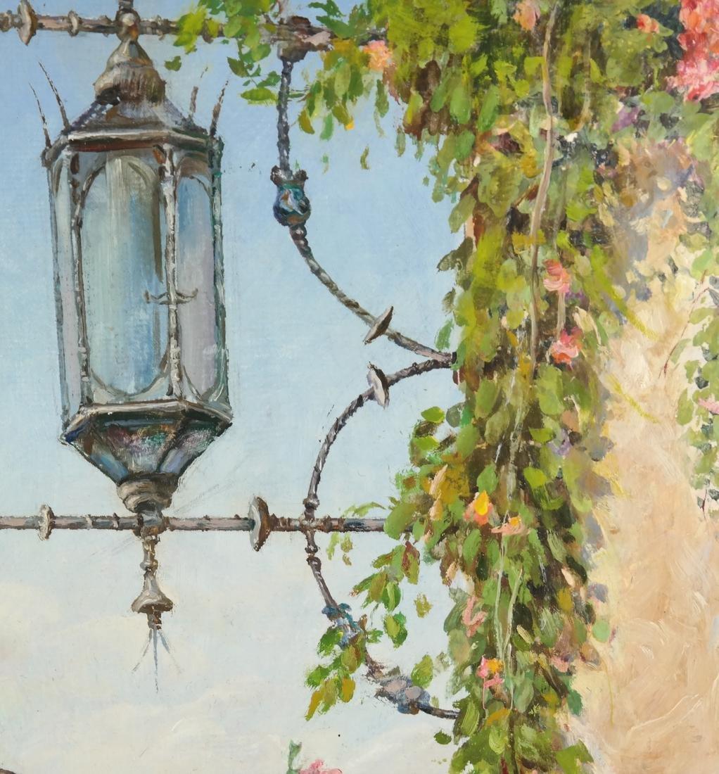 Venetian Painting, Canal Scene - 5