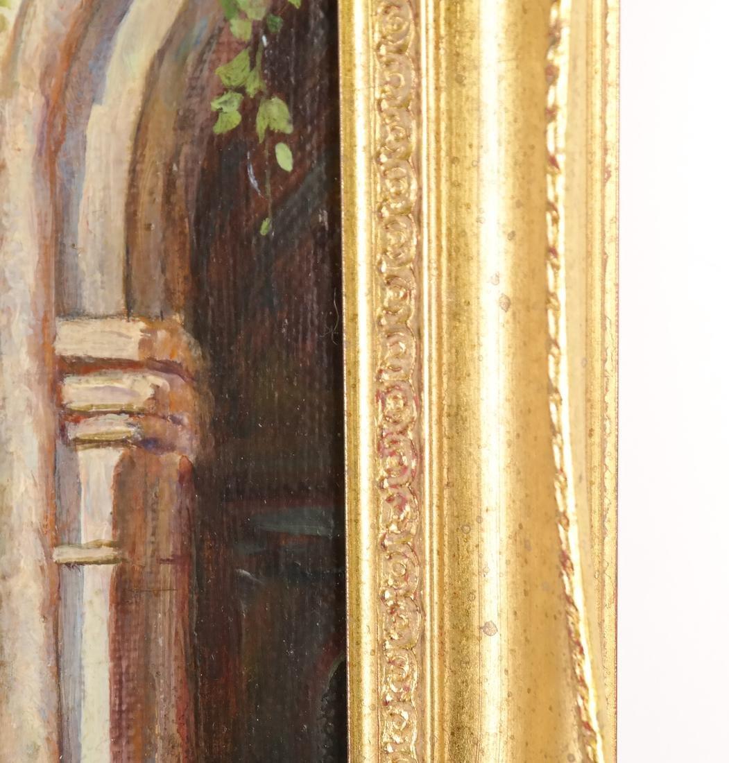 Venetian Painting, Canal Scene - 6