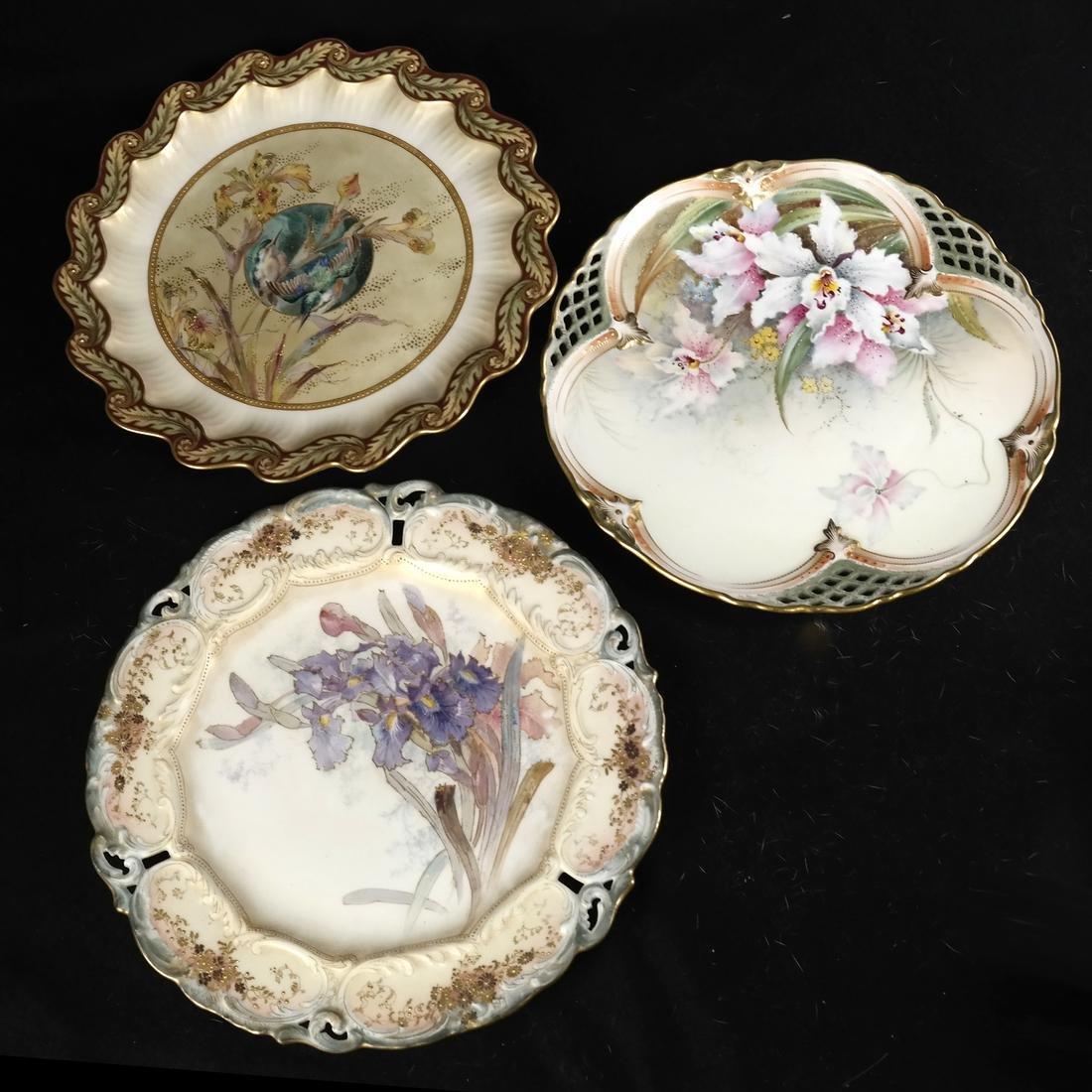 Royal Burslem Cabinet Plates