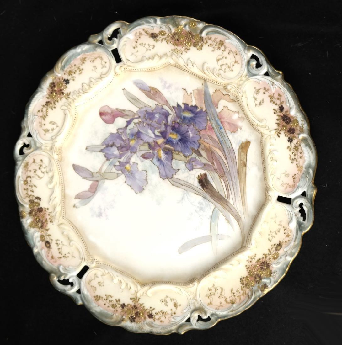 Royal Burslem Cabinet Plates - 2
