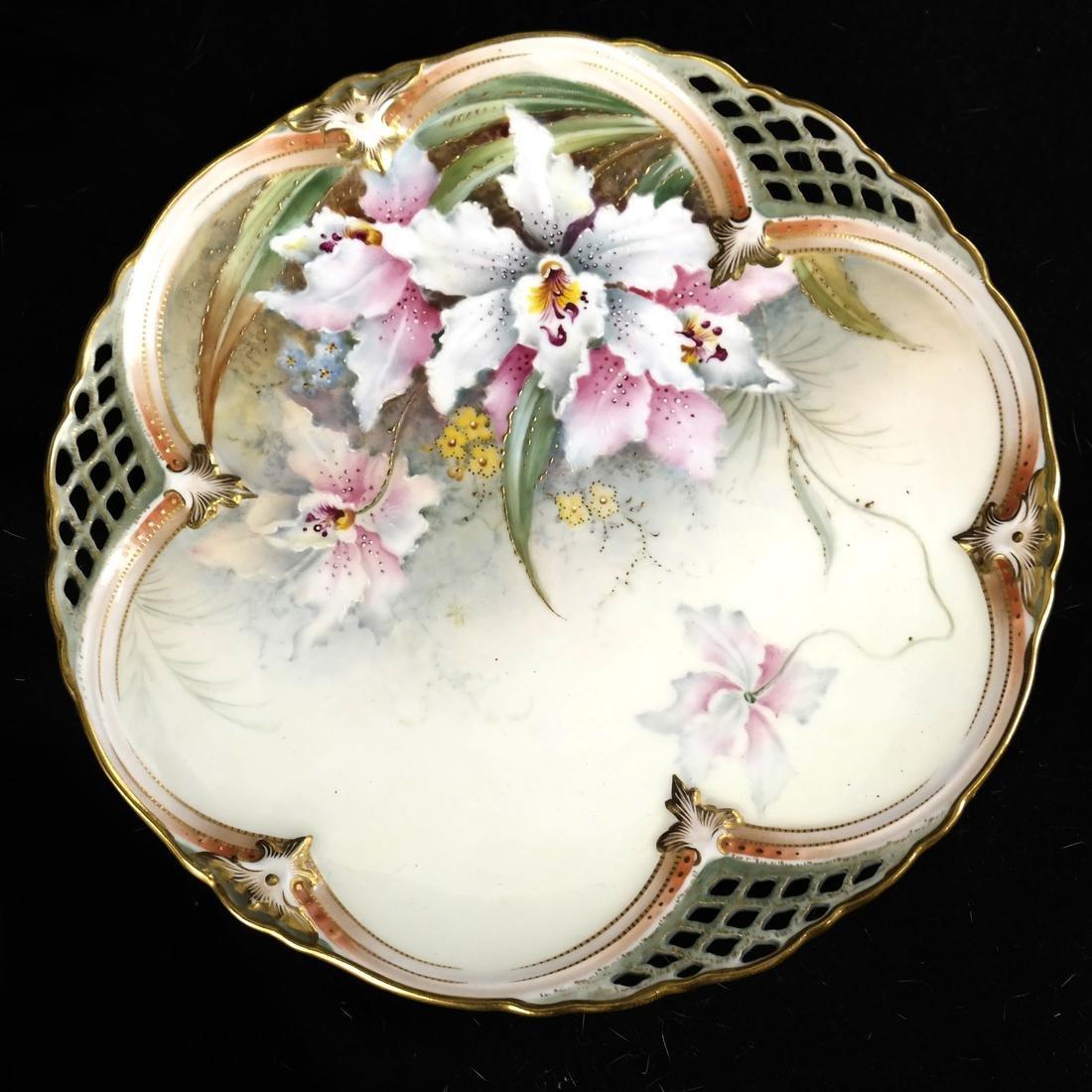 Royal Burslem Cabinet Plates - 3