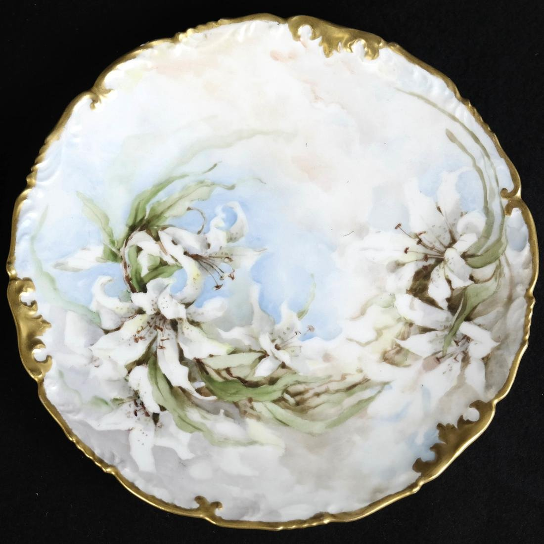 Pair of Limoges Porcelain Plates - 2