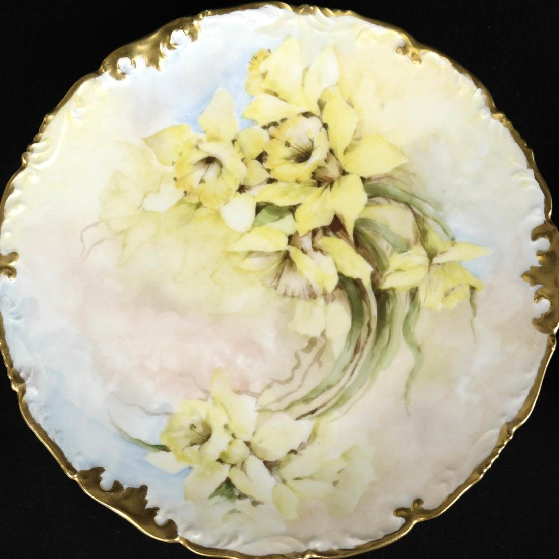 Pair of Limoges Porcelain Plates - 3