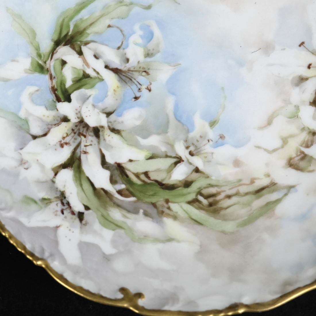 Pair of Limoges Porcelain Plates - 5