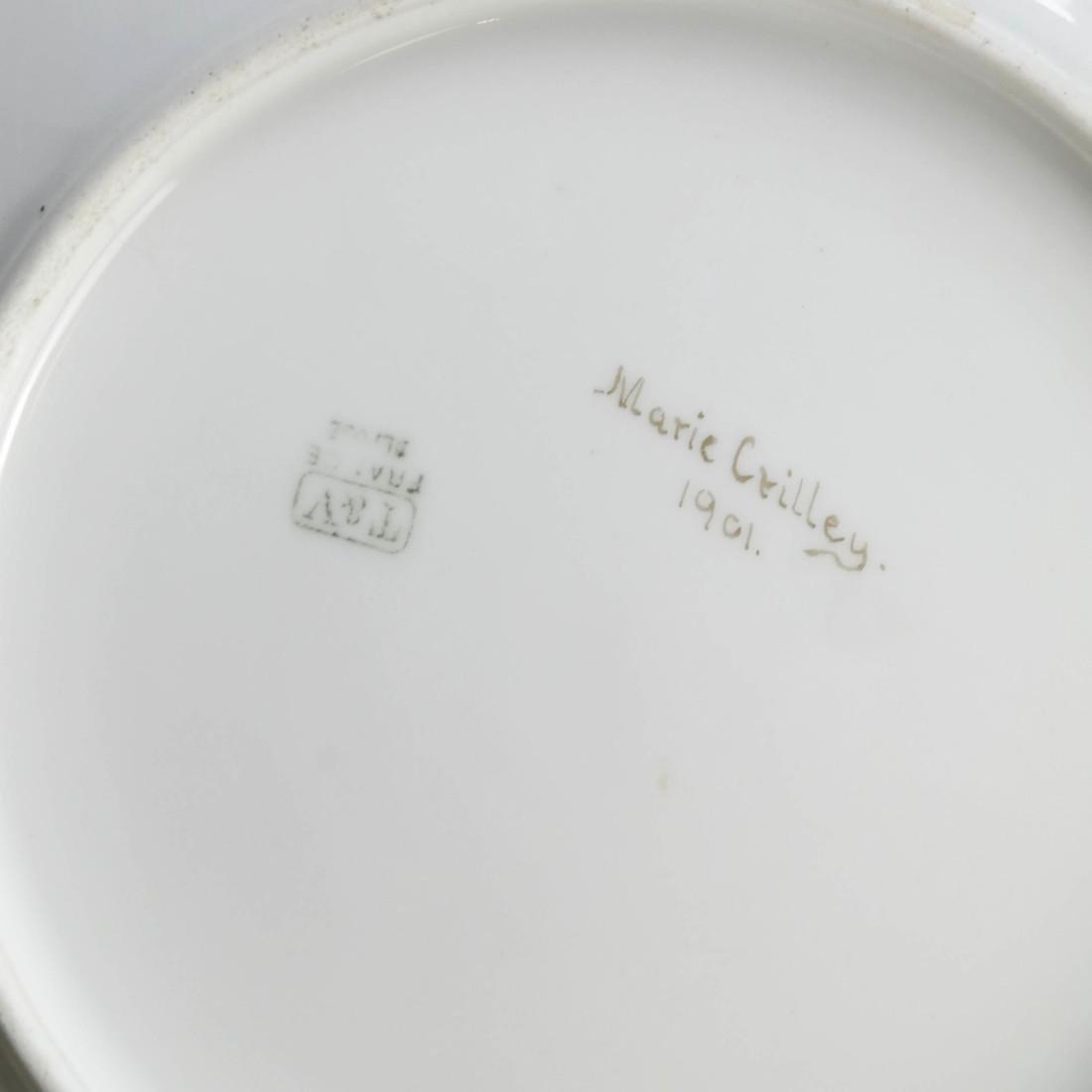Pair of Limoges Porcelain Plates - 6