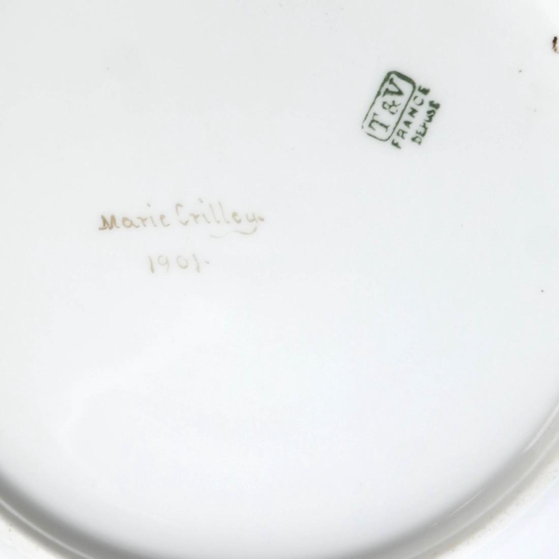 Pair of Limoges Porcelain Plates - 7