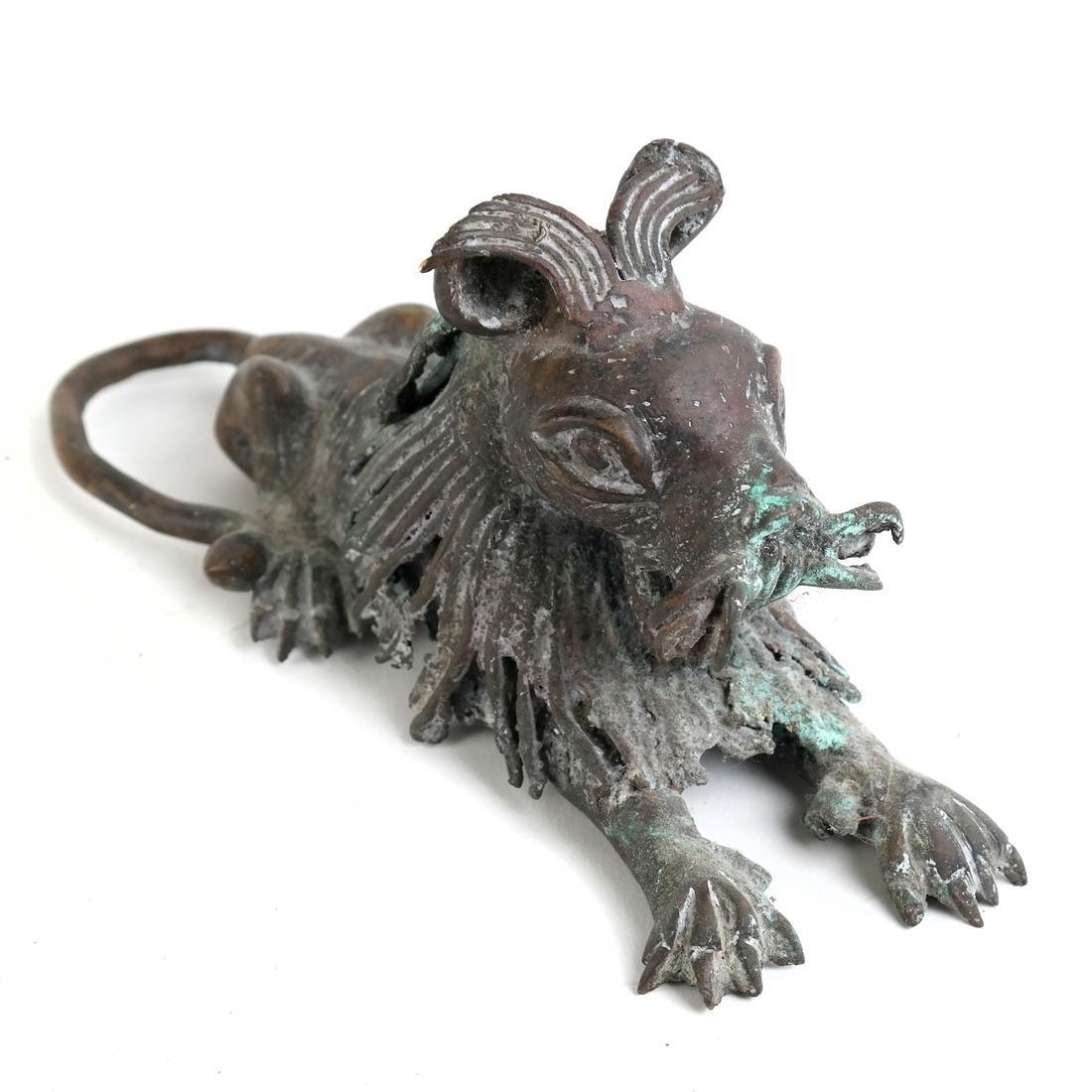 Roman-Style Bronze Lion