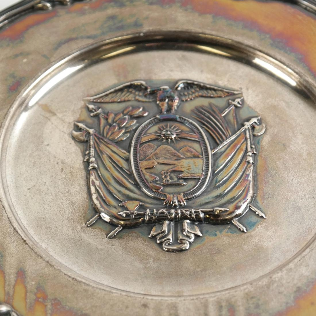 Sterling Silver Coat of Arms - 2