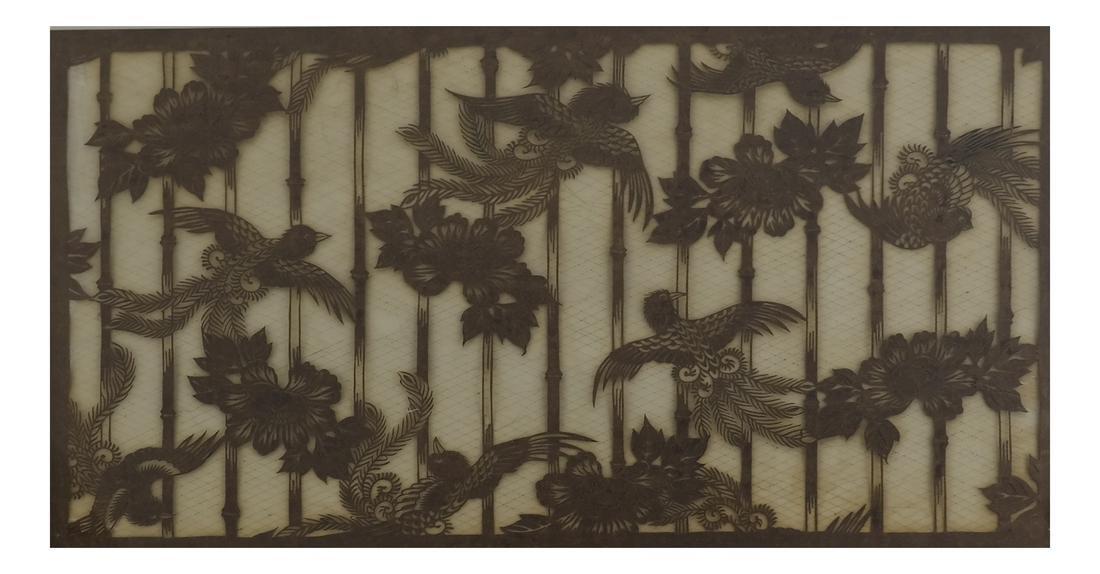Japanese Katagami Stencil