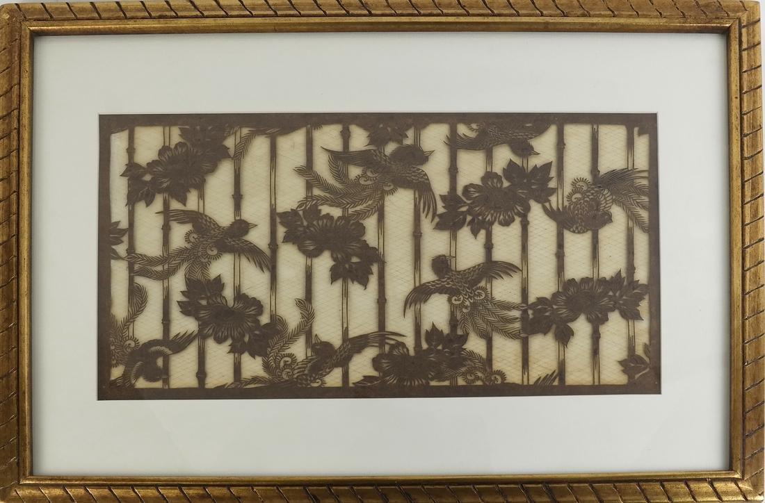 Japanese Katagami Stencil - 2