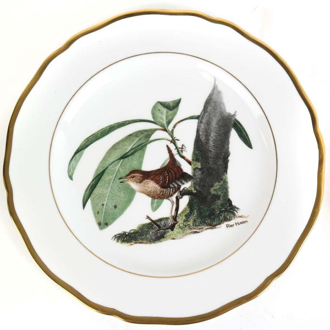 Three Decorated Plates - 4