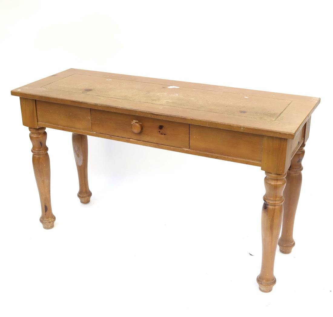 Pine Console by Broyhill