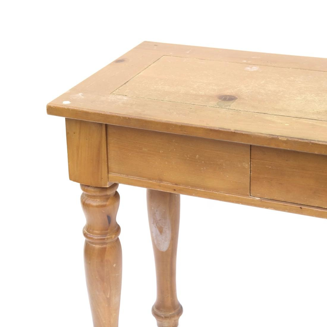Pine Console by Broyhill - 3