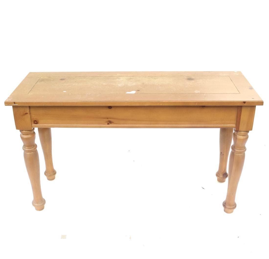Pine Console by Broyhill - 9