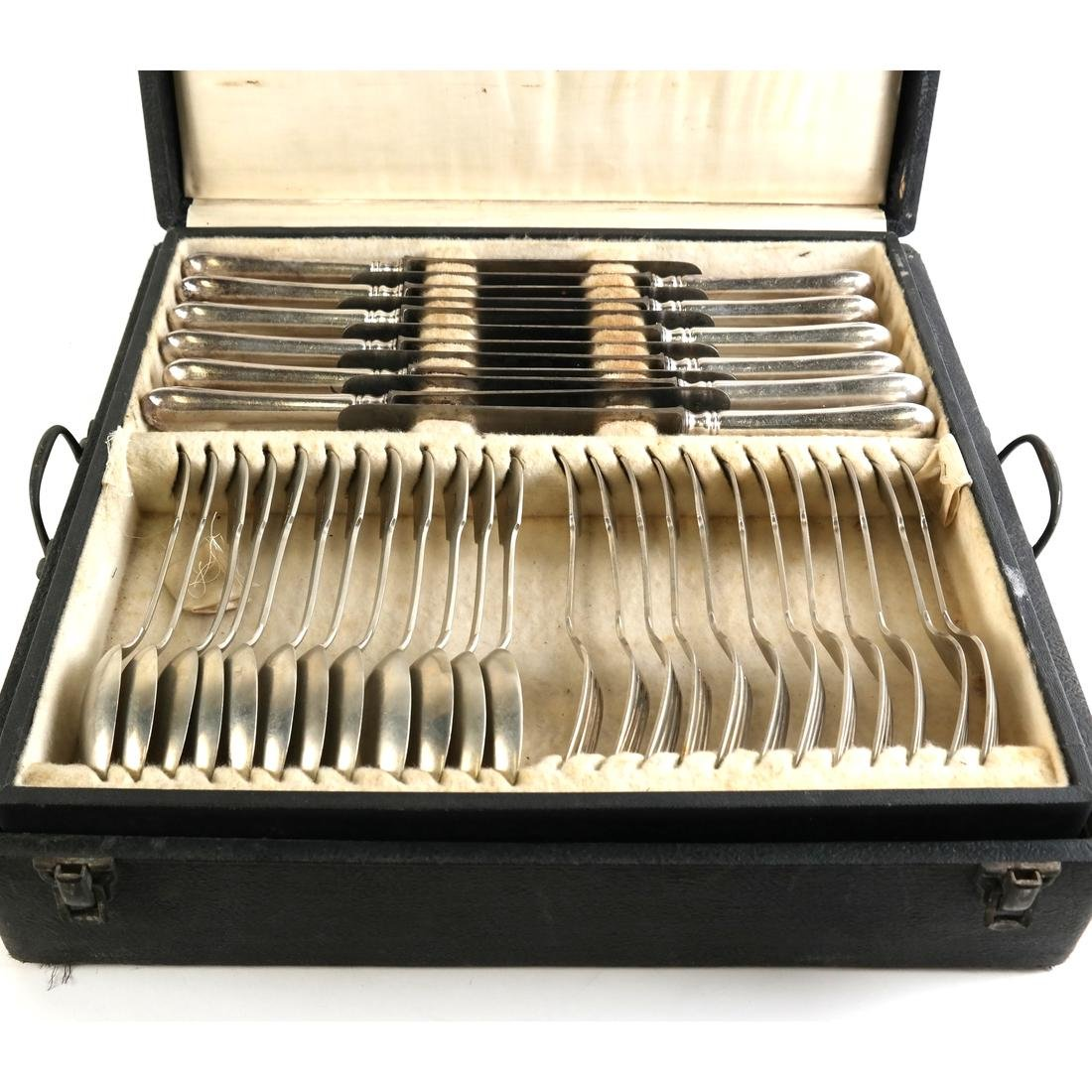 J. Robinson Silver Plated Flatware - 5