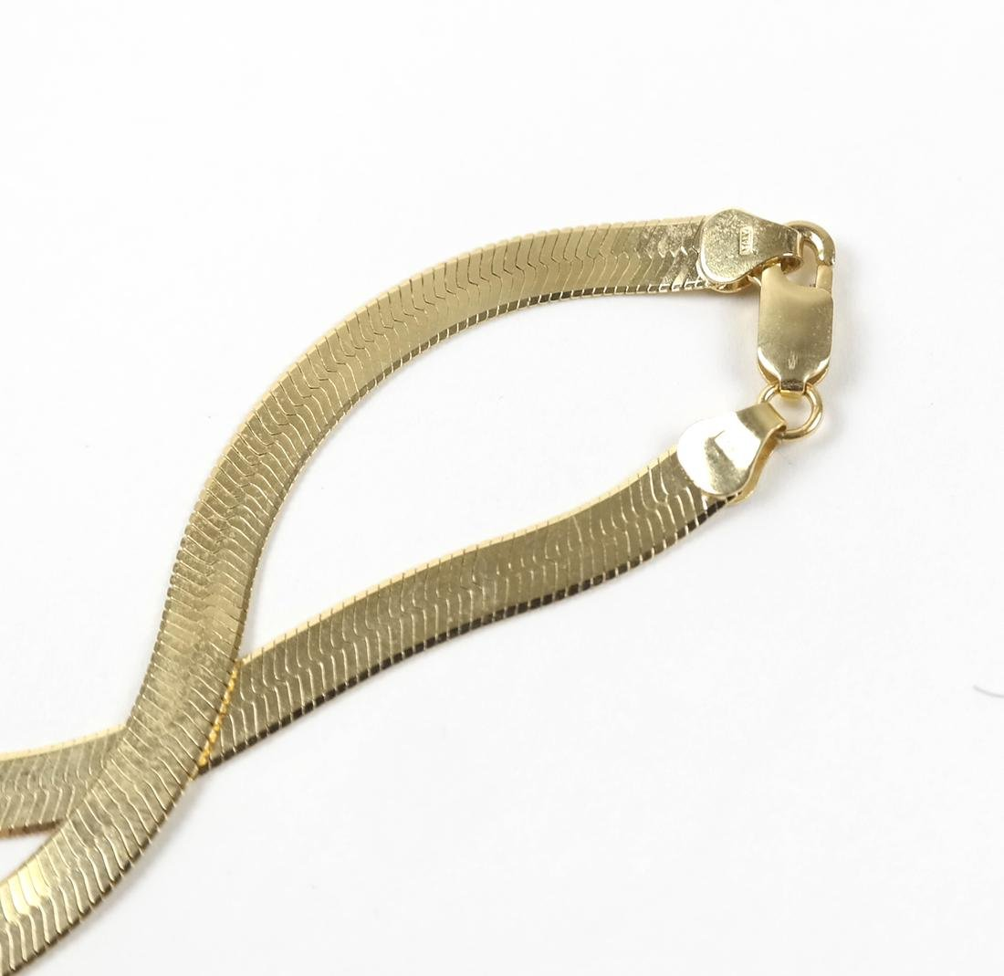 Italian 14k Yellow Gold Necklace - 4
