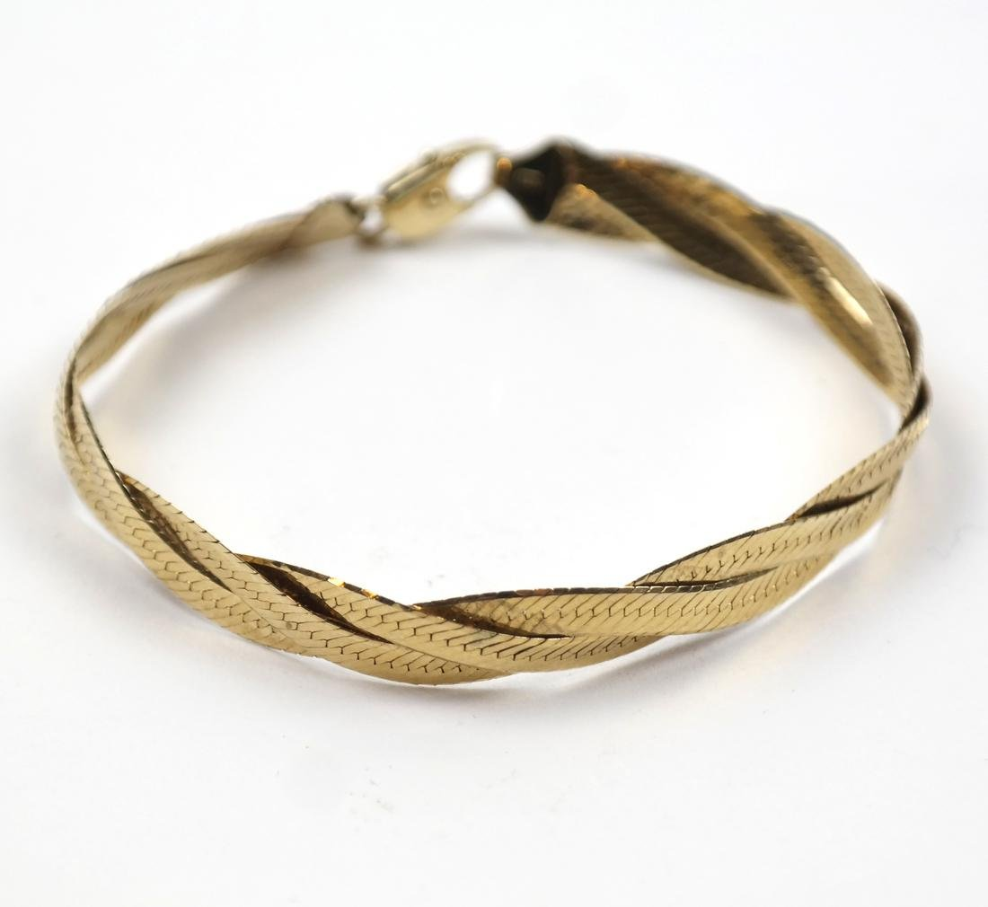 Italian 14k Yellow Gold Bracelet