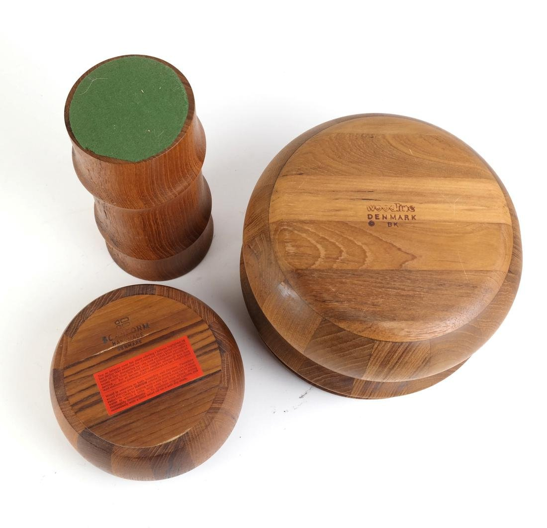 Three Exotic Wood Vessels - 2