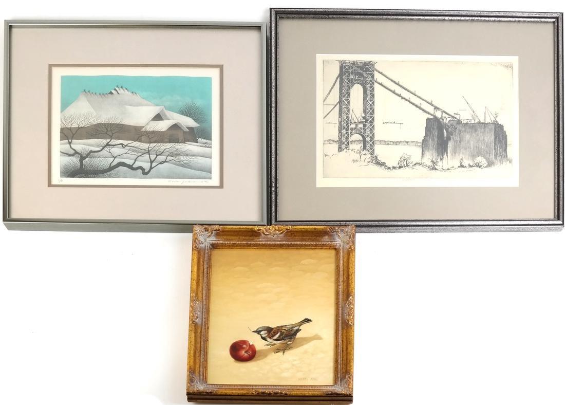 Three Works, Bird House Bridge